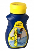 50 Test su Strip Aquacheck Giallo 4 in 1 - Analisi PH Cloro Alcalinità & Acido Isocianurico Acqua Piscina Spa & Idromassaggio