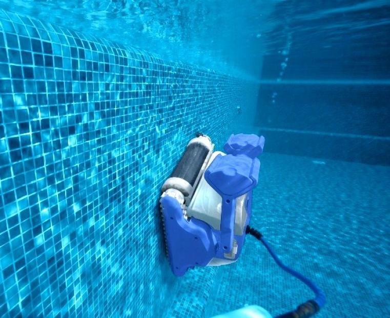 Maytronics dolphin sf 50 active gyro digital robot - Aspirafango per piscina ...