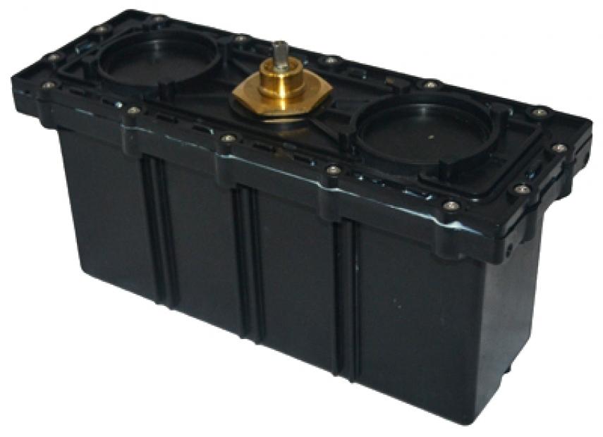 Box motore con centralina ricambio originale per robot elettrico piscina hayward sharkvac evac - Motore per piscina ...