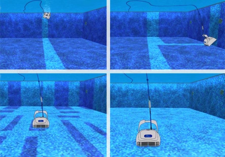Maytronics dolphin dynamic 2x2 pro gyro digital con for Piscine 2x2