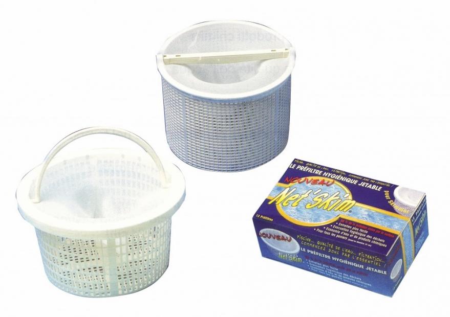36 sacchetti calze pre filtro universali toucan per skimmer piscina spa net skim confezione - Calze per piscina ...