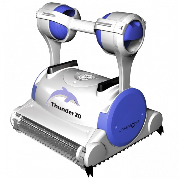 Maytronics dolphin thunder 20 digital robot elettrico for Robot piscine maytronics