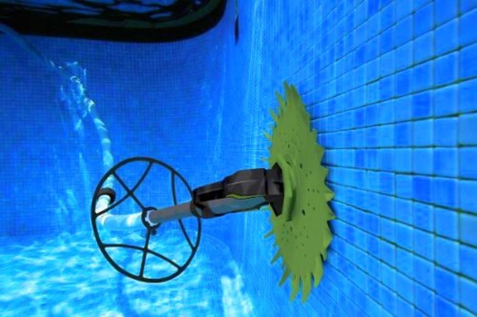 robot pulitore piscine fuoriterra per fondo e pareti